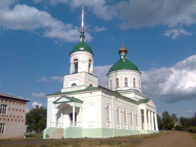 Церковь в деревне Ежово Юкаменского района УР
