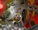 калипер Avid Juicy Carbon и ротор Shimano XTR на 160 мм