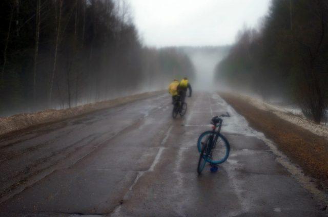 Туманный накрыв. И ливневый дождь...