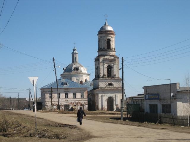 Храм в Адышево